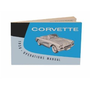 1958 Corvette Owner's Manual