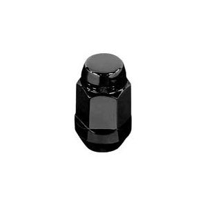 McGard 64015 Chrome/Black Bulge Cone Seat Style Lug Nuts (M12 x 1.5 Thread Size) - Set of 4