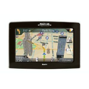 Magellan Maestro 4350 4.3-Inch Portable GPS Navigator with Bluetooth & Integrated Traffic