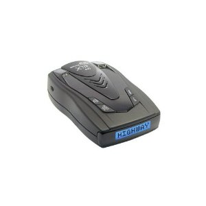 Whistler XTR-440 Laser/Radar Detector Battery Operated with Built in Battery Charger with Blue Text Display