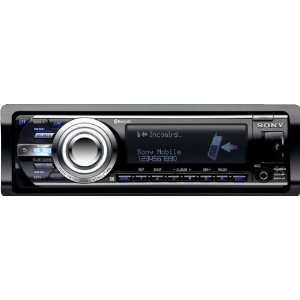 Sony MEXBT5700U CD Receiver Bluetooth Hands-Free and Audio Streaming Capability (Black)