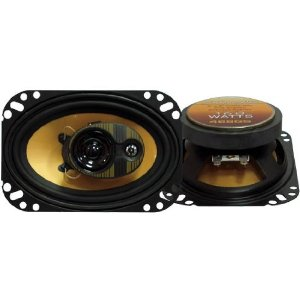 Pyramid 468GS 4-Inch X 6-Inch 160 Watts ThreeWay Speakers