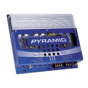 Pyramid PB446X 600W 2/1 Channel Bridgeable MOSFET Amplifier