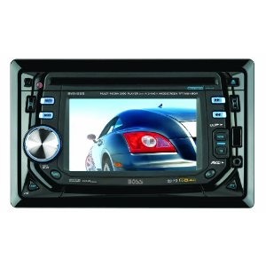 Boss BV9155B In-Dash Double-DIN 4.5