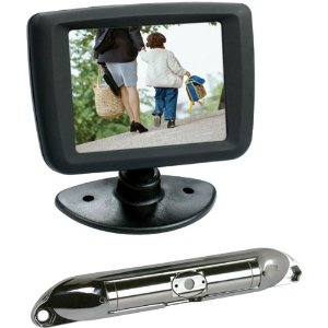 Boyo Vtc431R Bar Type License Plate Camera Package