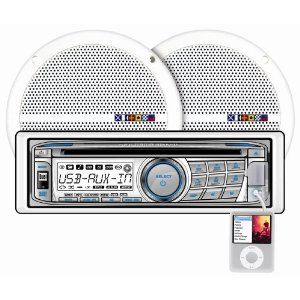 """Dual CP662B CD Receiver With Two 6.5"""" Dual Cone Speakers"""