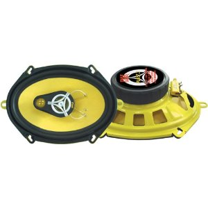 PYLE PLG57.3 5-Inch x 7-Inch/6-Inch x 8-Inch 240 Watt Three-Way Speakers