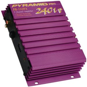Pyramid PB110PX 2-Channel 240-Watt Pro Plus Amplifier
