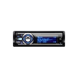 Sony CDXGT930UI CD Receiver Motorized, full-motion, fluorescent four-line display (Black)