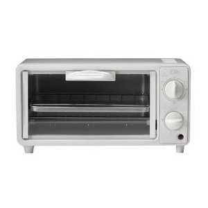 Maxi-Matic ETO-113 Elite Cuisine 2-Slice Toaster Oven with 15 Minute Timer, White