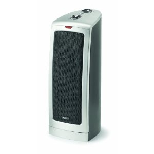 Lasko 5367 16-1/2-Inch Oscillating Ceramic Tower Heater
