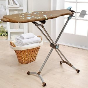 Homz Revolution 360 Ironing Board with Insert and Clip