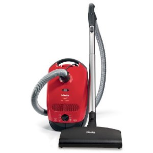 Miele S2180 Titan Canister Vacuum - Chili Red