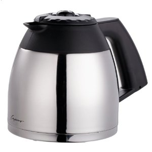 Capresso 4440 10-Cup Stainless Carafe for Capresso MT-500