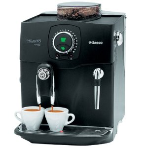 Saeco A-IR-Bk Incanto Rondo RS SBS Fully Automatic Espresso Machine, Black