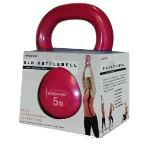Empower 5-Pound KettleBell with DVD