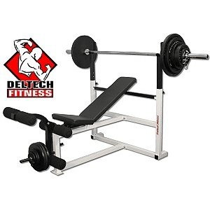 Deltech Fitness Olympic Weight Bench