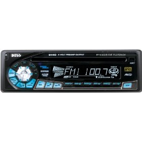 Boss Audio 614C MP3 / CD Receiver with Detachable Front Panel