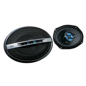 Sony XS-GTF6935B 6 x 9 inch 3-Way 300 Watt Coaxial Car Speakers (Price per Pair)
