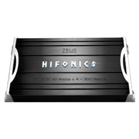 Hifonics Zeus ZXI8010 300 Watt A/B Class Five-Channel Amplifier