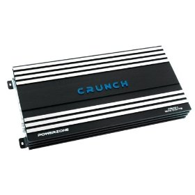 Crunch PowerZone P1500.1 1500 Maxx Watt Power A/B Class Mono Amplifier