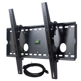 VideoSecu Tilting - Wall Mount Bracket Free 6FT HDMI Cable for Pioneer Profhd1 Pro-FHD1 - 50