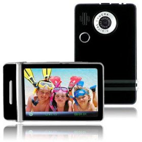 Ematic 1.8 Inches Touch Screen Color MP3 Video Player With Built-in 5MP Digital Camera with Video Recording, FM Radio & Speaker 8 GB BLACK