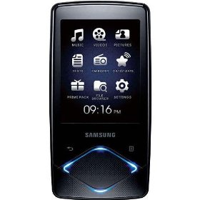 Samsung Q1 16 GB Video MP3 Player with Lighted Touchpad (Black)