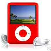 Iboost 4GB Red MP3 Multimedia Player