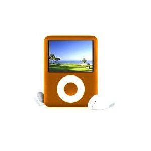 Iboost 4GB Orange MP3 Multimedia Player