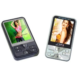 4GB MP4 Player with 2 Inch Display