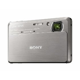 Sony DSC-TX7 10.2MP CMOS Digital Camera with 4x Zoom with Optical Steady Shot Image Stabilization and 3.5 inch Touch Screen LCD (Silver)