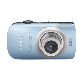 Canon PowerShot SD960IS 12.1 MP Digital Camera with 4x Wide Angle Optical Image Stabilized Zoom and 2.8-inch LCD (Light Blue)