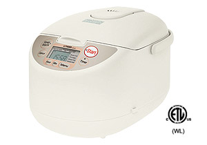 Tiger jagb10u rice cooker 5.5cup fuzzy logic