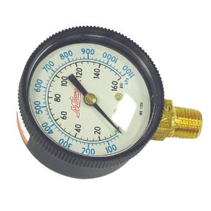 Milton 1194 Pressure Gauge - 1/4 NPT - Bottom 0-160 PSI 2 In Face
