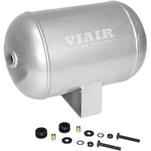 VIAIR VIAIR-91014 1 Gallon Air Tank - Four 1/4in NPT Ports 150 psi Rated