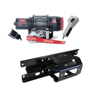 Warn RT30 ATV 3000lb Winch COMBO-KIT for a 2005-2010 Polaris Sportsman, X2, and Touring