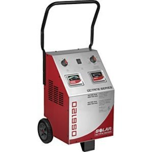 Solar SOLOS6120 Octane Series- 40 Amp 6/12Volt Charger with 200 Amp Engine Start and Battery Tester