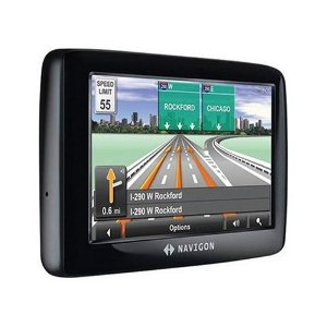 Navigon 2100 max 4.3-Inch Portable GPS Navigator with Text-to-Speech
