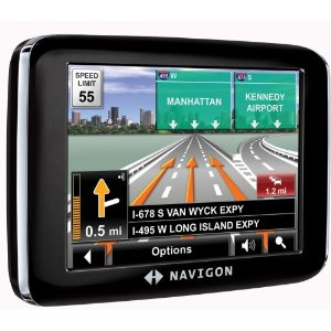 Navigon 2200T 3.5-Inch Portable GPS Navigator with Text-To-Speech and Free Traffic Alerts