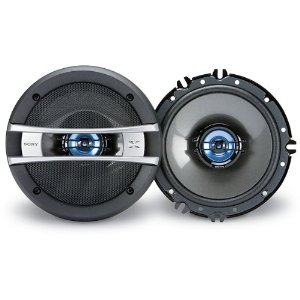 Sony XSGT1626A 6-1/2-Inch Coaxial 2-way Speakers (Black)