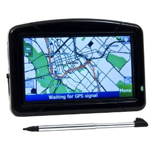 OMNITECH CE00686A 4.3-Inch Portable GPS with Text to Speech