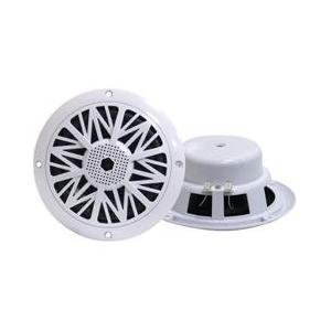PYLE PLMR62 200 Watts 6.5-Inch 2 Way White Marine Speakers