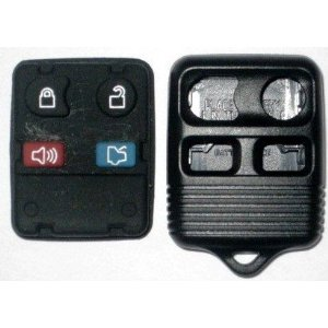 2010 Keyless Entry Remote Fob Clicker replacement pad and case for Ford Focus