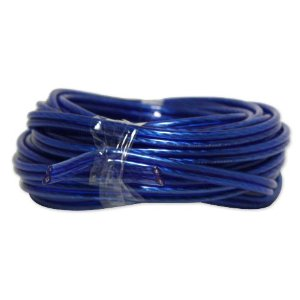 Brand New Atrend 100 Foot (Cut From a 400 Foot Spool) 14 Gauge Blue Speaker Wire -- Top of the Line Quality -- Oxygen Free -- Extremely Thick 14 Awg Wire!!