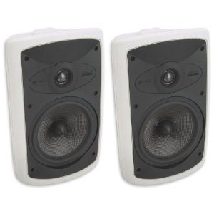 Niles OS7.5 White (Pr) 7 Inch 2-Way High Performance Indoor Outdoor Speakers (FG00996)