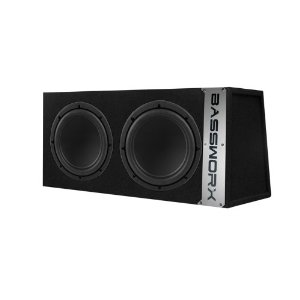 Bassworx CS210B Dual 10-InchSealed Enclosure (Black)
