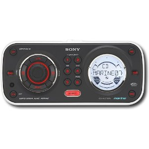 Sony CDXHS70MW Splash-Proof CD Receiver/MP3 Player/Unilink Controller
