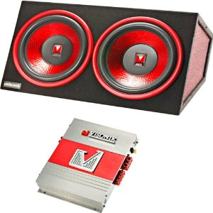 VISONIK VB-210PKG Dual Bass Box with 10