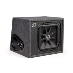 Kicker 08VS12L54 Solo-Baric 12-Inch Vent Box 4-Ohm Subwoofer